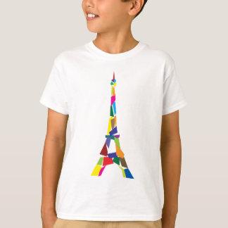 Tour Eiffel abstrait, France, Paris T-shirt