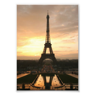 Tour Eiffel au lever de soleil du Trocadero Impressions Photographiques