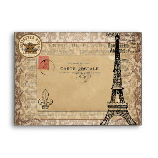 Tour Eiffel chic minable vintage de Paris