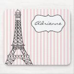Tour Eiffel chic Tapis De Souris