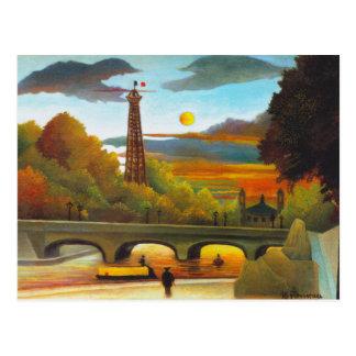 Tour Eiffel de Henri Rousseau à la carte postale
