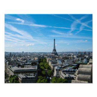 Tour Eiffel de l'arc du Triomph - copie de photo