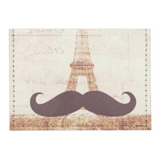 Tour Eiffel de moustache Porte-cartes Tyvek®