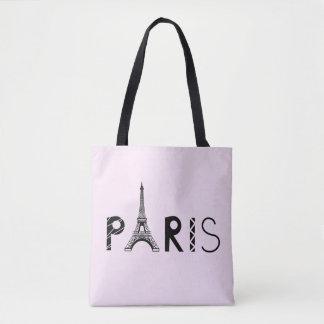 Tour Eiffel de Paris, France   Tote Bag