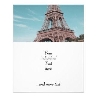 Tour Eiffel de Paris Tract Personnalisé