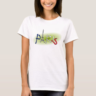 Tour Eiffel de Paris T-shirt