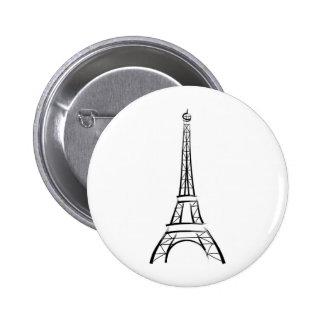 Tour Eiffel de traçage Badges