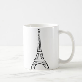 Tour Eiffel de traçage Mug