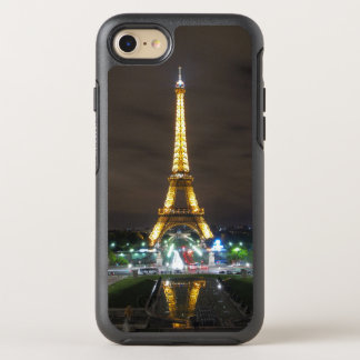 Tour Eiffel la nuit, Paris Coque OtterBox Symmetry iPhone 8/7