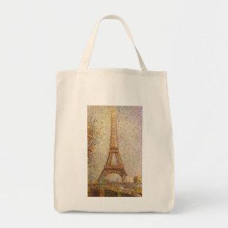 Tour Eiffel par Georges Seurat, beaux-arts Sacs