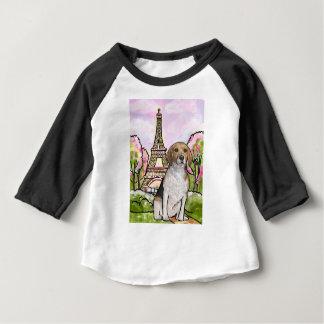 Tour Eiffel Paris de beagle T-shirt Pour Bébé