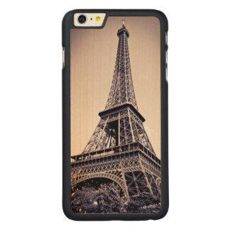 Tour Eiffel, Paris, France Coque En Érable iPhone 6 Plus