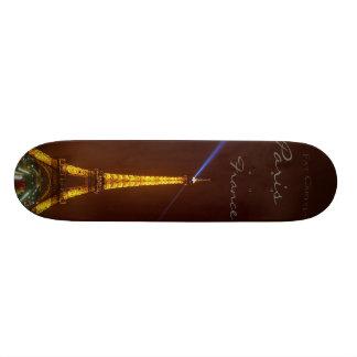Tour Eiffel, plate-forme de planche à roulettes de Plateau De Skate