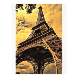 Tour Eiffel Prospectus 21,6 Cm X 24,94 Cm