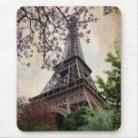 Tour Eiffel vintage 2 Tapis De Souris