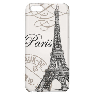 Tour Eiffel vintage moderne Coques iPhone 5C