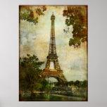 Tour Eiffel vintage Posters