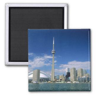 Tour et Skydome de NC à Toronto, Ontario, Magnet Carré