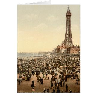 Tour III, Lancashire, Angleterre de Blackpool Carte De Vœux