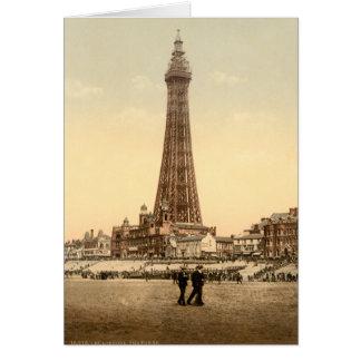 Tour IV, Lancashire, Angleterre de Blackpool Carte De Vœux
