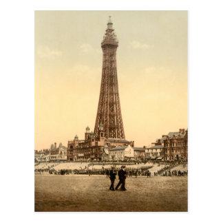 Tour IV, Lancashire, Angleterre de Blackpool Carte Postale