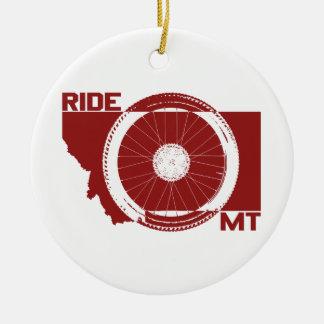 Tour Montana Ornement Rond En Céramique