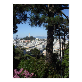 Tour San Francisco de Coit Carte Postale