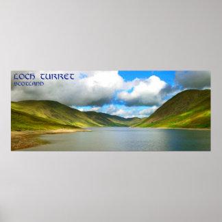 tourelle Ecosse de loch Poster