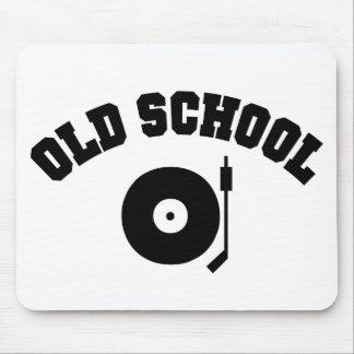 Tourne-disque du DJ de vieille école Tapis De Souris