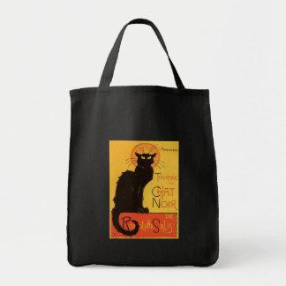 Tournée du Chat Noir, cru de chat noir de Steinlen Sac En Toile Épicerie