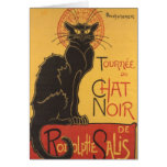 Tournée du Chat Noir de La Carte De Vœux