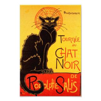 Tournée du Chat Noir - poster vintage Photos D'art