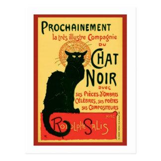 Tournée du Chat Noir, Theophile Steinlen Carte Postale
