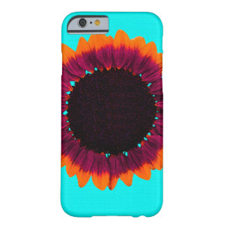 Tournesol Artsy et abstrait d'automne Coque iPhone 6 Barely There