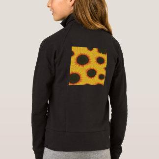 Tournesol coloré de motif de ressort veste