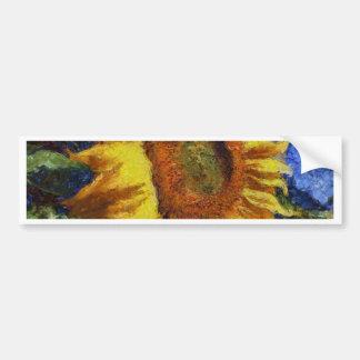 Tournesol en style de Van Gogh Autocollant Pour Voiture