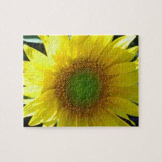 Tournesol jaune lumineux puzzle