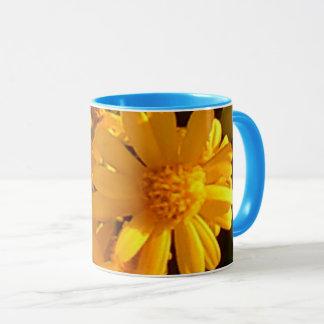 Tournesol jaune tasse combinée de 11 onces