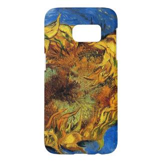 Tournesols coupés de Van Gogh deux, beaux-arts Coque Samsung Galaxy S7
