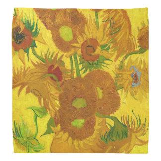 Tournesols de Van Gogh quinze en beaux-arts de Bandana
