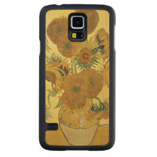 Tournesols de Vincent van Gogh |, 1888 Coque Mince En Érable Galaxy S5