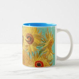 Tournesols par Van Gogh Tasse 2 Couleurs