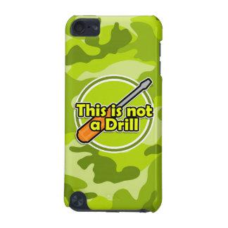 Tournevis drôle camo vert clair camouflage