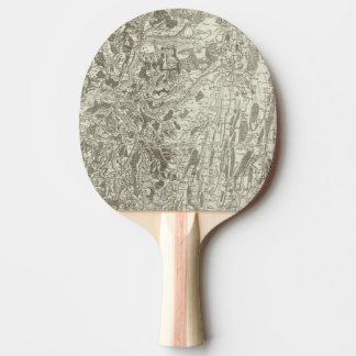 Tournus, Lonsle Saunier Raquette Tennis De Table