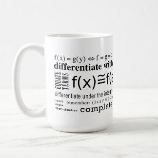 Tours de maths mug