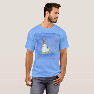 Tous je veux le T-shirt rare d'aquarelle de chat