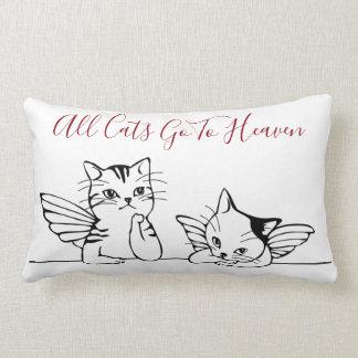 Tous les chats vont au coussin de ciel pour des