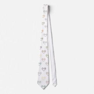 TOUS LES COEURS par la cravate vintage d'amour