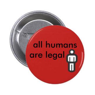 tous les humains sont juridiques pin's