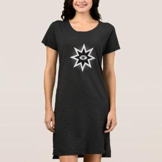 Tous les Ing de mer Eye tee-shirt tenue Robe